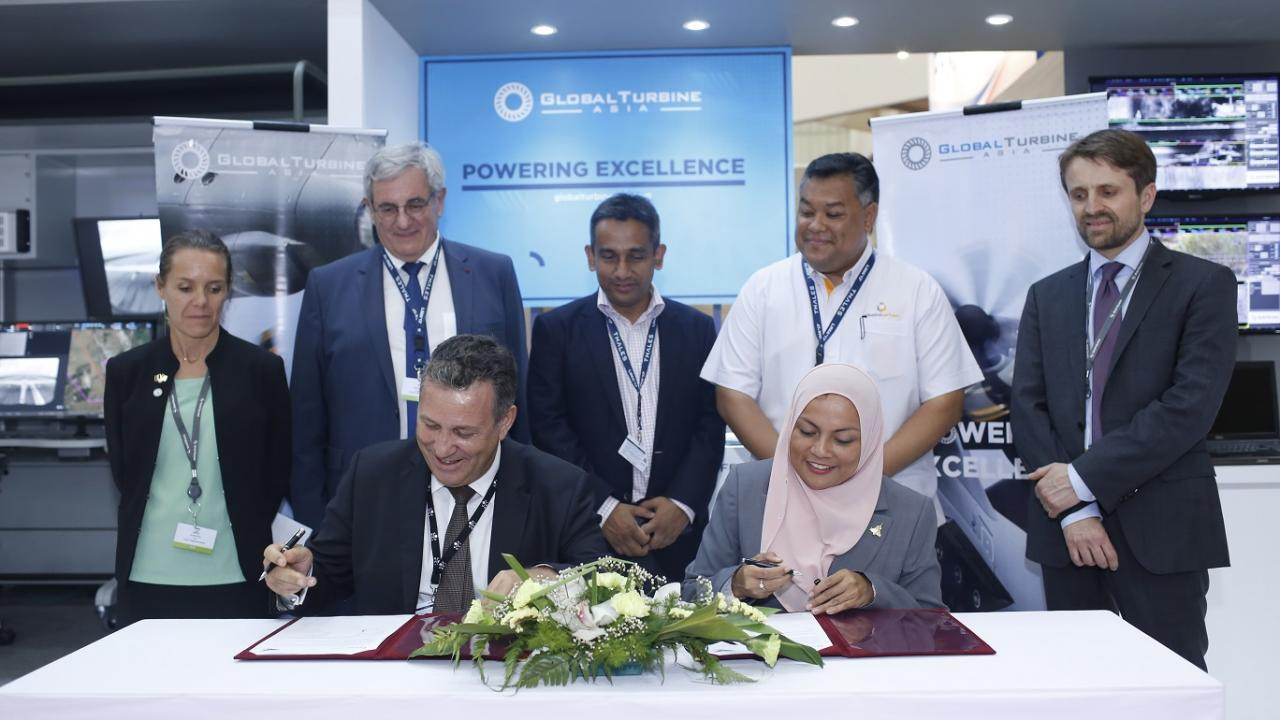 Global Turbine Asia Named Key Support To Helang Flying Academy